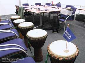 Deloite Touche percussion