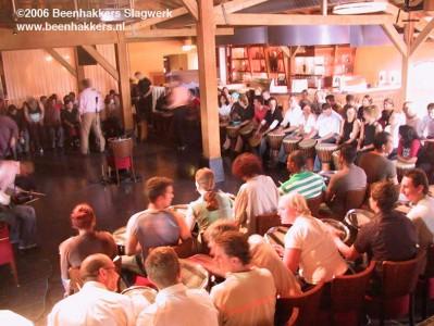 percussieworkshop Beenhakkers Slagwerk