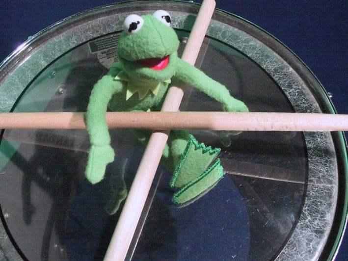 kermit drums
