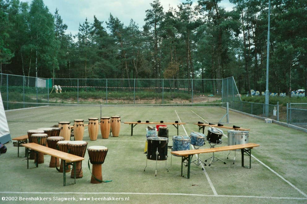 Percussion-tennis