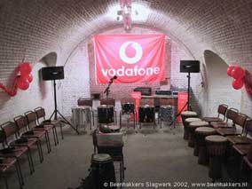 vodafone percussion