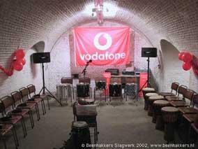 vodafone percussion