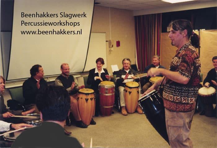 Hans Beenhakkers Slagwerk ABN-Amro