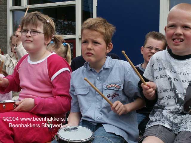 kleuters drumcircle percussie