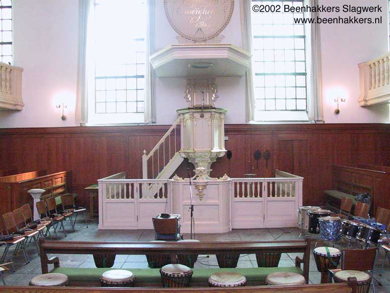 Percussie Kerk