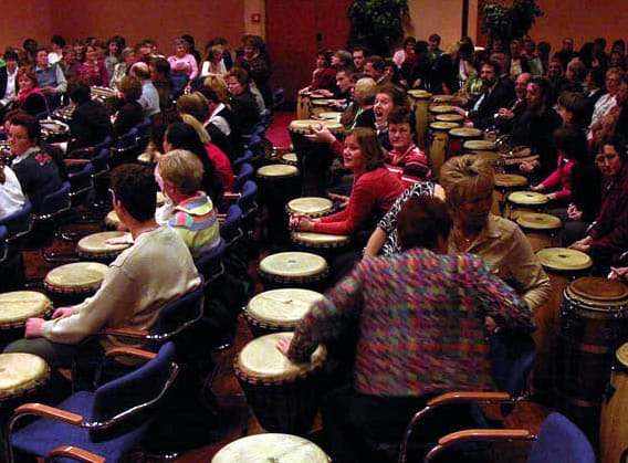workshop percussie Robijn