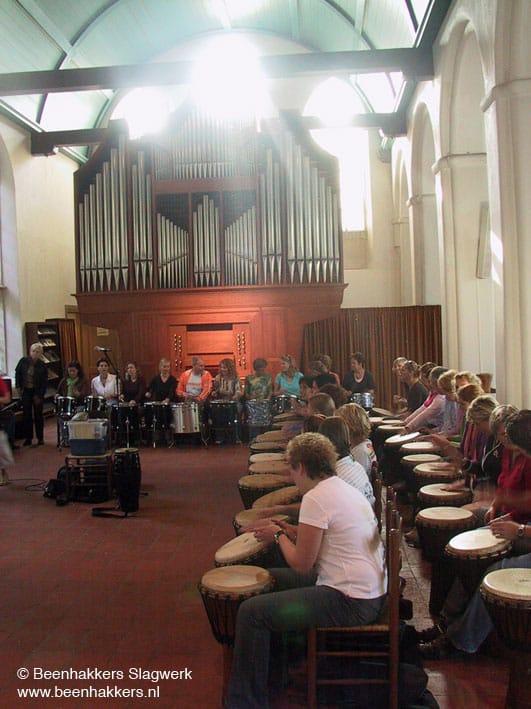 kerk percussie