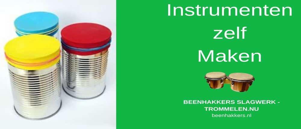 zelf instrumenten maken, muziekinstrument