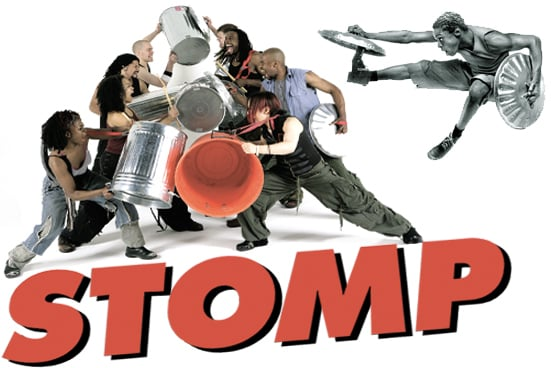 stomp percussiegroep theater show