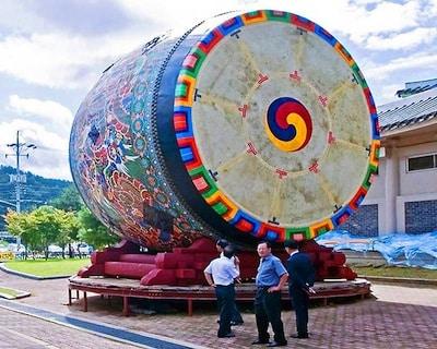 wereld grootste drum