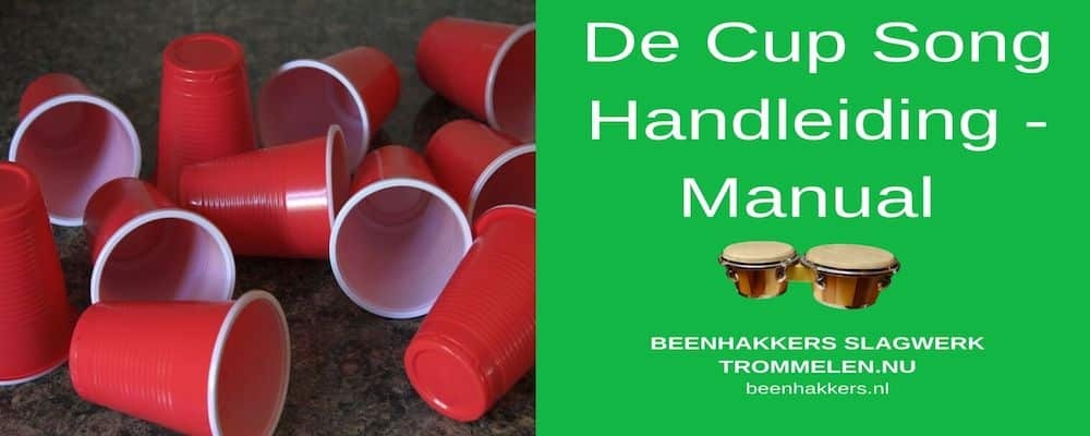 De Cup Song Handeleiding - Manual