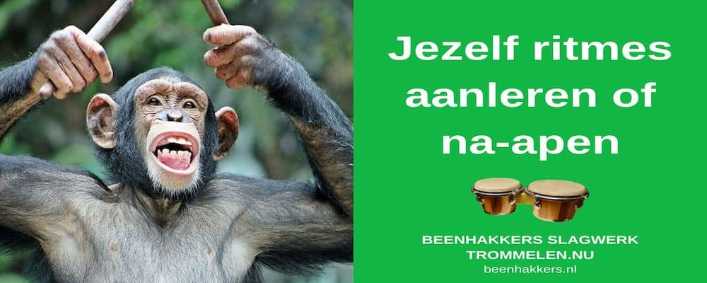 jezelf ritmes aanleren of na-apen
