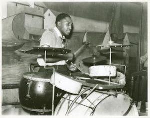 drumstel - drumkit oud