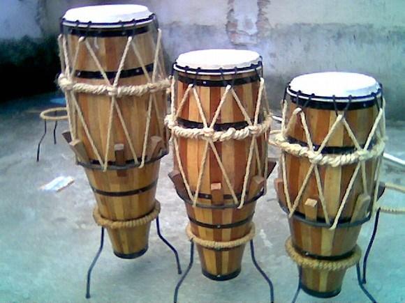 houten doos trommel