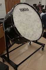 bass drum - grote trom - concert