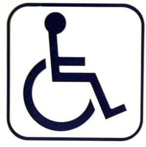 lichamelijke beperking