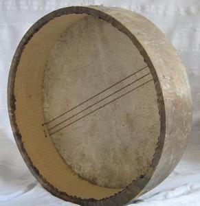 framedrum, frame-drum, bendir