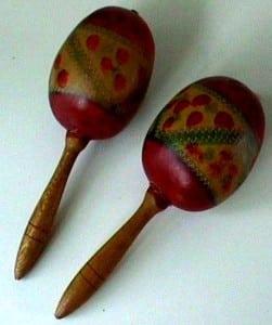 Maraca - maraca's - maracas -sambabal - sambaballen