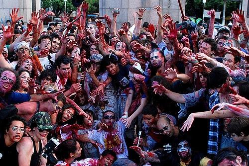 happening zombie walk