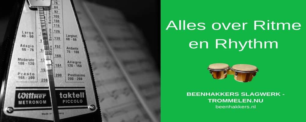 Alles over ritme en Rhythm