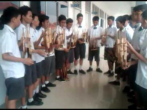 Angklung Anklung Angkloeng-ensemble