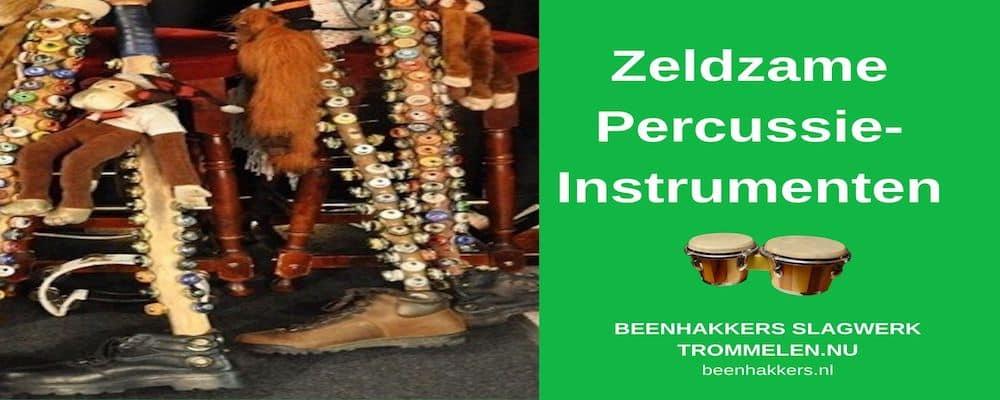 zeldzame percussie instrumenten