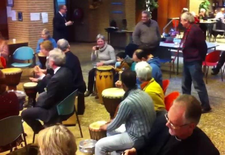 Hilversum Drumhappening Drumcircle Sociaal