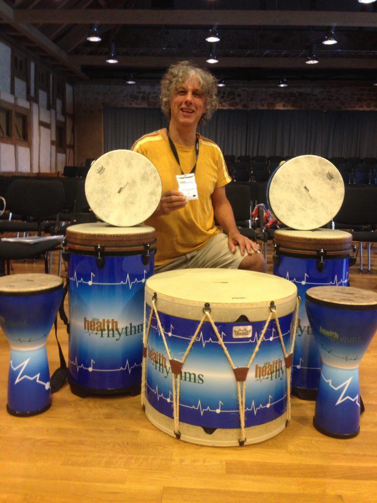 hans beenhakkers remo health rhythms gezondeheid trommelen drummen