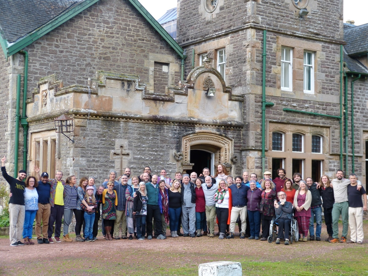 Drumcircle Training Wiston Schotland 2018