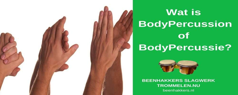 wat is Bodypercussion of Bodypercussie?