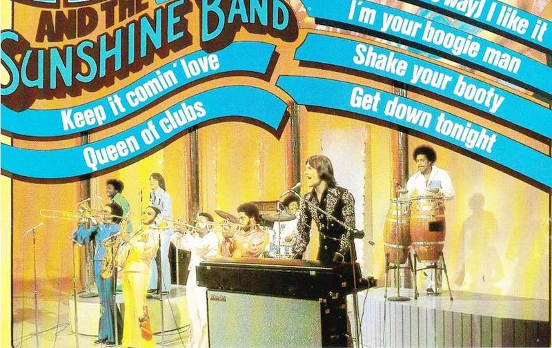 congas, conga's, KC & the Sunshine band