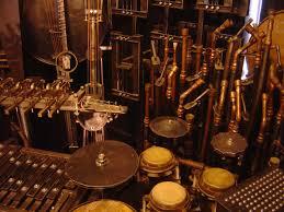 bizarre muziekinstrumenten van anarchestra, bizar muziekinstrument