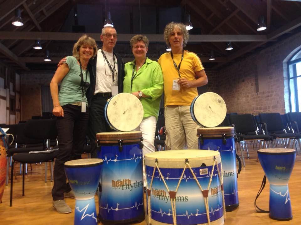 remo health rhythms, drummen voor gezondheid, gezondheids drummen