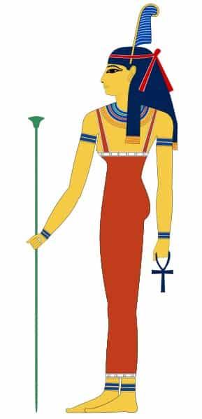 de Egyptische godin Maat