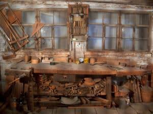 workshop, werkplaats