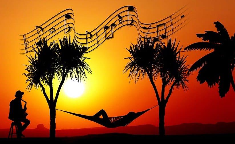 ontspannen muziek maken zonder stress